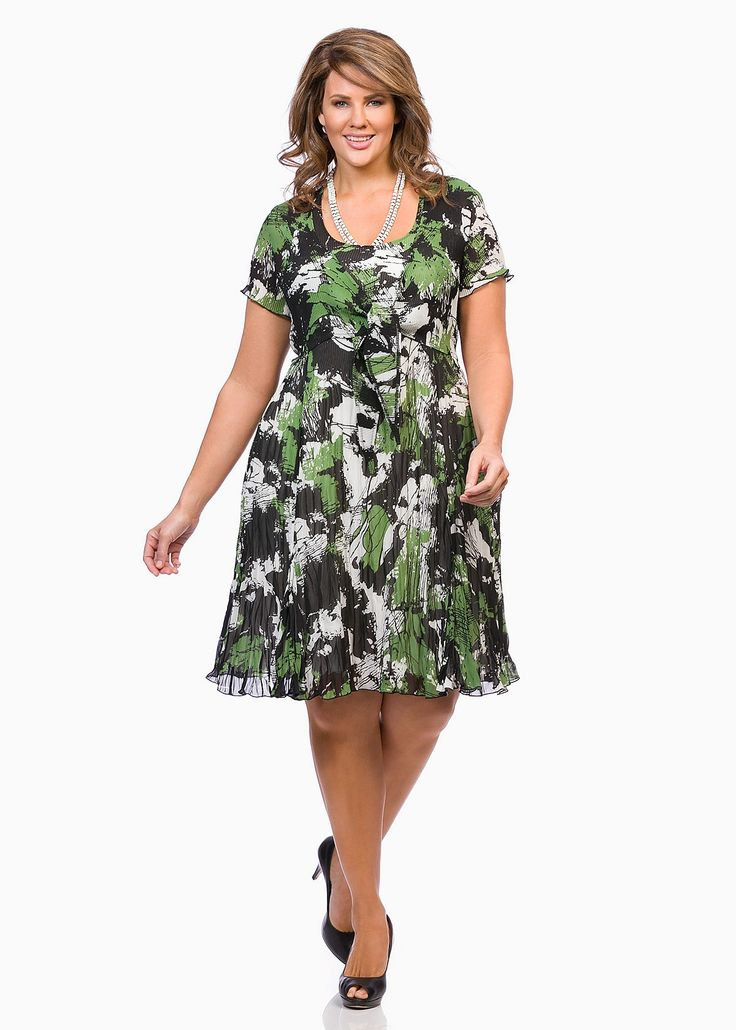 Big Sizes Womens Clothing | Clothes for Larger Size Women - ENCHANTE DRESS - TS14 January 2015