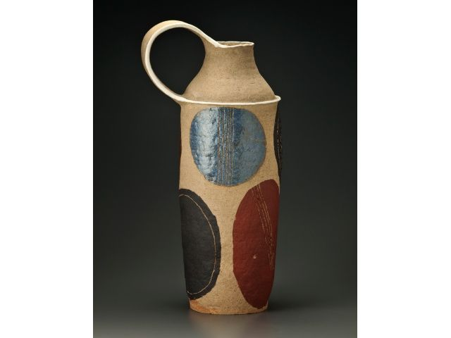 "Geoffrey Hatty // Ceramic ""Large Gambone Vessel"""