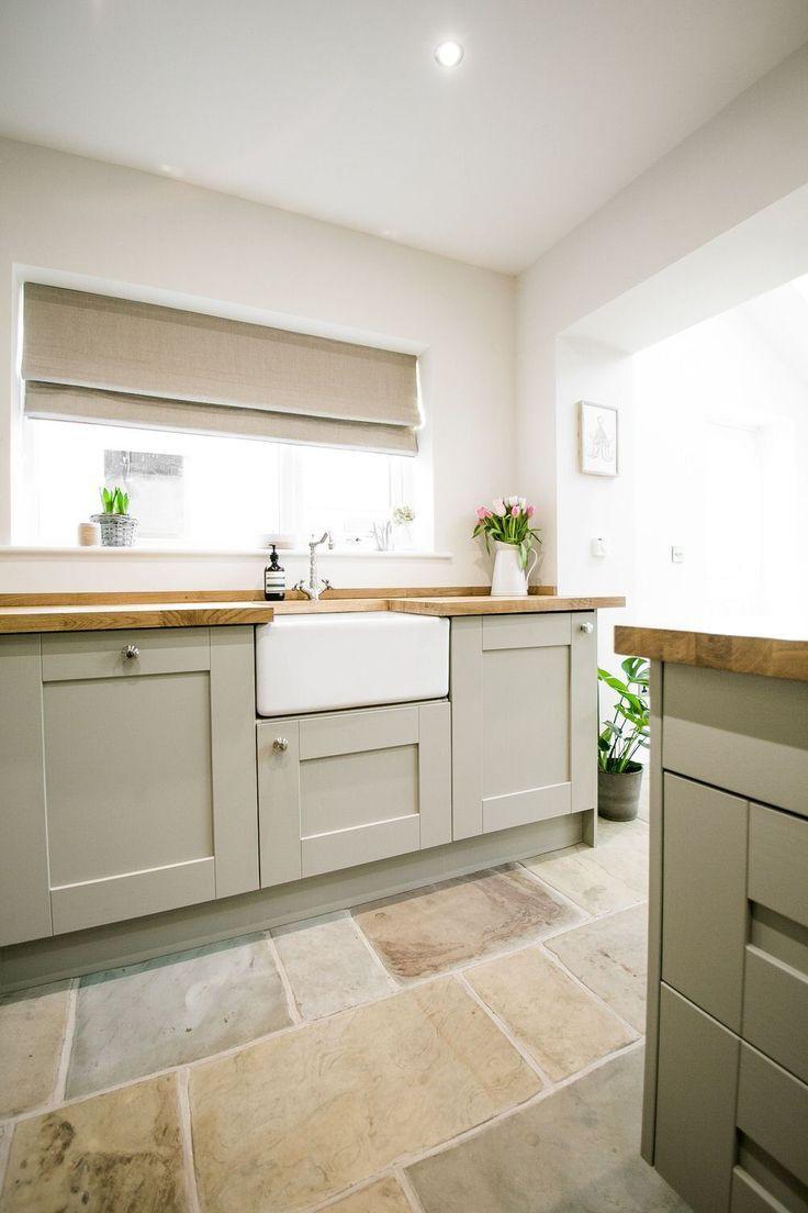 Shaker Kitchen…Flooring….wood tops   Remodel RemodelFireplace ...