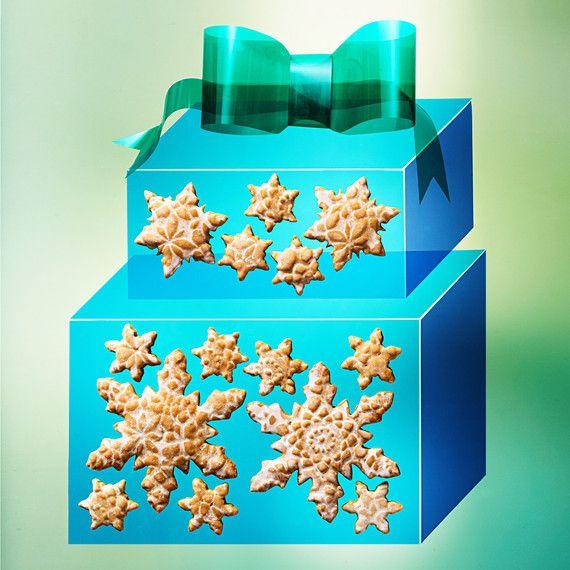 Készítsd az idei ajándéksütit kicsit másképpen. Ne elégedj meg a sima mézeskaláccsal vagy gyömbéres tésztával, alkalmazd Martha Stewart díszítési módszerét!
