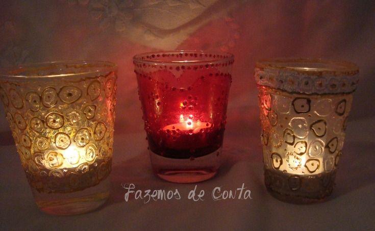 Faça você mesmo meu amor | Porta velas indiano - Casando Sem Grana