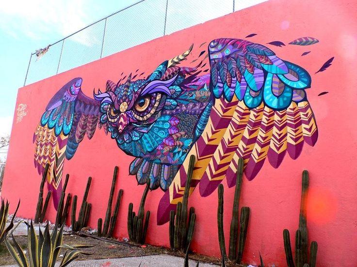 artistas urbanos de Mexico: Farid Rueda