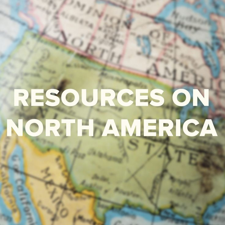 For More Resources About North America Visit Www Viflearn Com