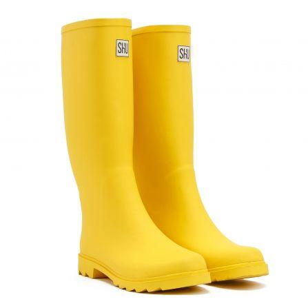 Желтые резиновые сапоги SH'U 2016