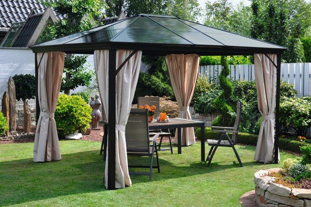 Leco Pavillon Profi Mit 4 Seitenteilen Set Bxt 300x365 Cm Online Kaufen Otto Pavillon Gartenlaube Whirlpool Pavillon