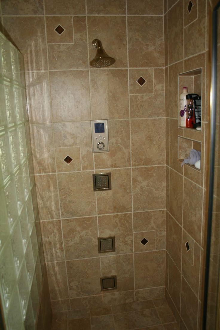Walk In Tile Shower 16 Best Showers Images On Pinterest Room Bathroom Ideas And
