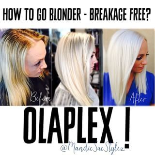 going to look for a stylist in my town that provides olaplex....