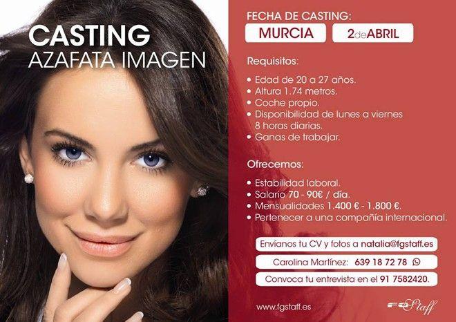La agencia de modelos First Grupo realiza un casting de azafatas en Murcia
