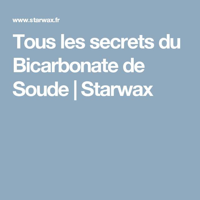 Tous les secrets du Bicarbonate de Soude | Starwax