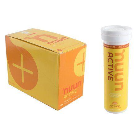 Nuun Hydration Electrolyte Enhanced Drink Tabs - Orange - 10 Tablets