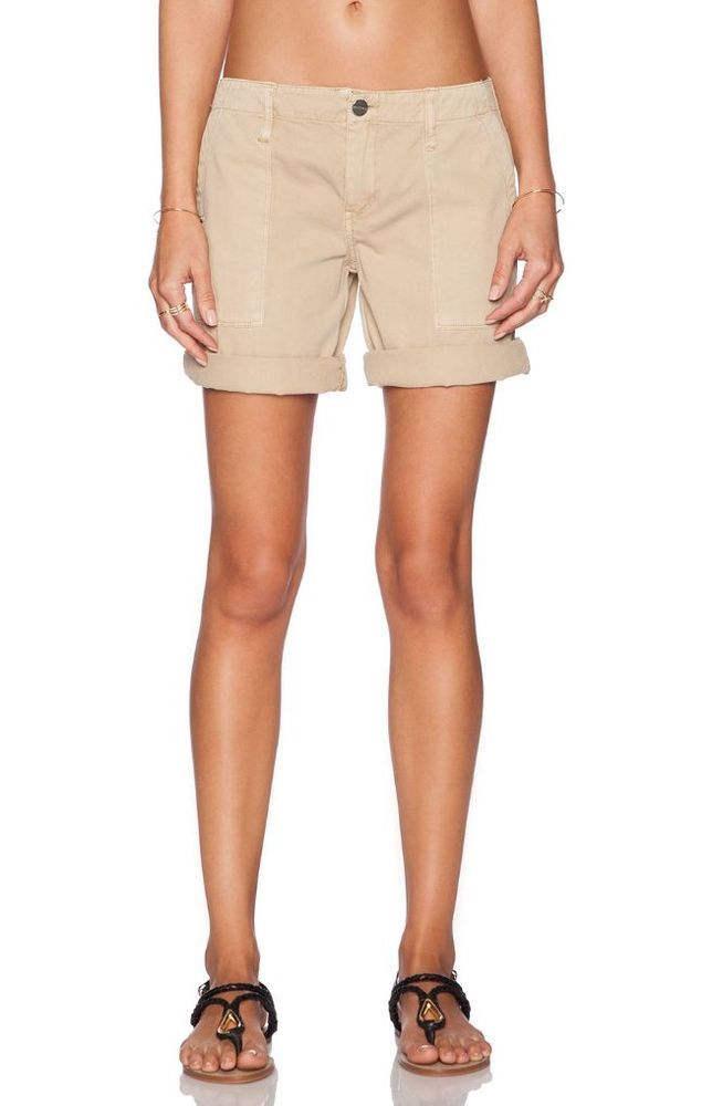 SANCTUARY Designer Casual Peace Bermuda Hike Khaki Shorts Sandstone Tan 29 $90 #Sanctuary #BermudaWalking