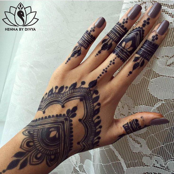 Henna Tattoo Einfach Klein: Pin By Nofar Klein On קעקועים (With Images)