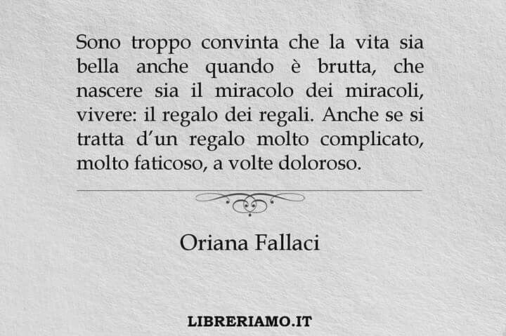 Oriana fallaci..