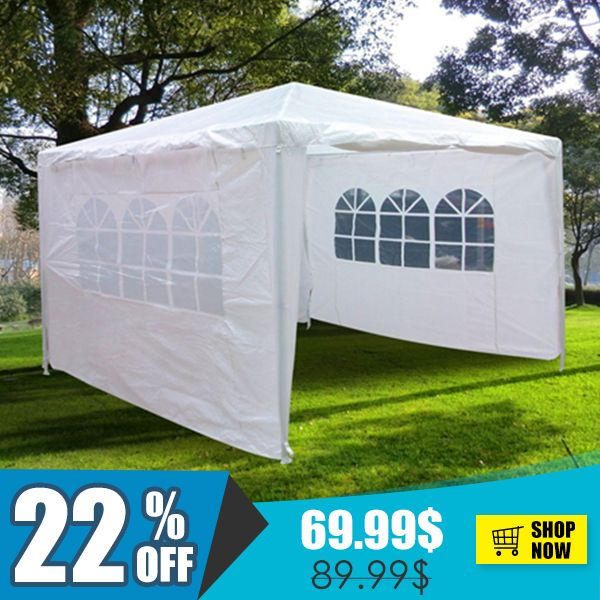 Quictent 10 X 10 Party Tent With Sides White Party Tent Party Tents For Sale Tent