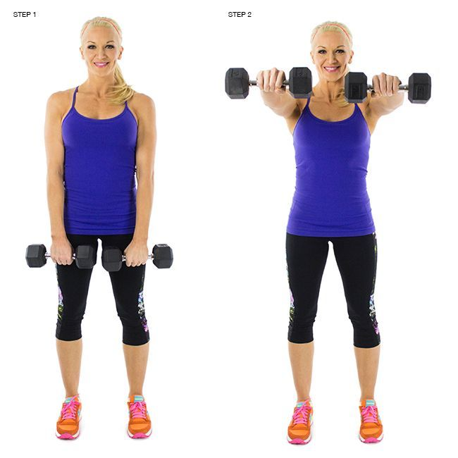 Dumbbell Up and Backs