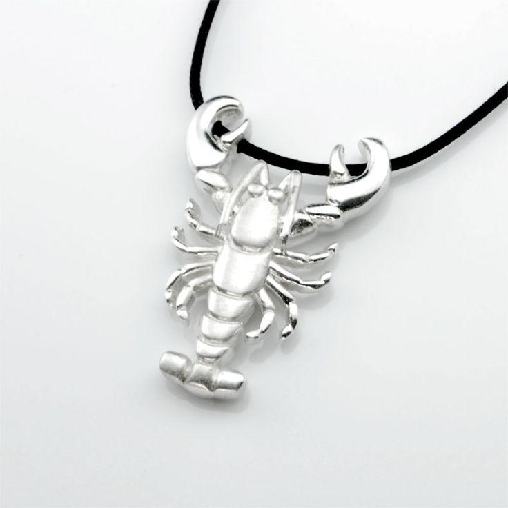 Lobster - Silver Pendant #lobster #silver #pendant #jewelry #gift