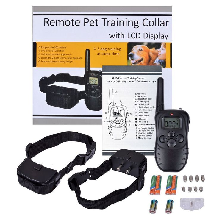 Remote Pet Traning Collar, DiscoverMe8 Remote-Controlled Dog Shock Collar with LCD Display * Click on the image for additional details. (This is an affiliate link and I receive a commission for the sales)