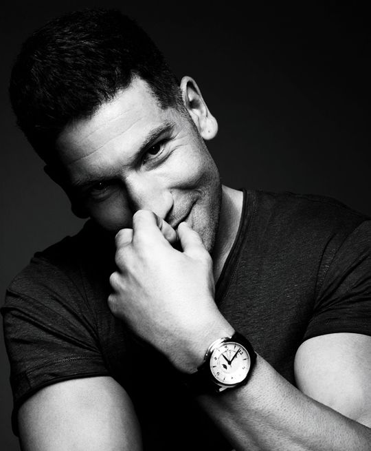 Jon Bernthal. Loved him in The Walking Dead, now I have to watch him as The Punisher.