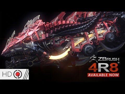 Pixologic ZBrush 4R8: New Features - YouTube