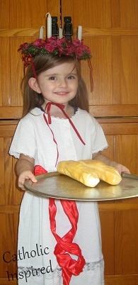 St. Lucy Costume  | Catholic Inspired