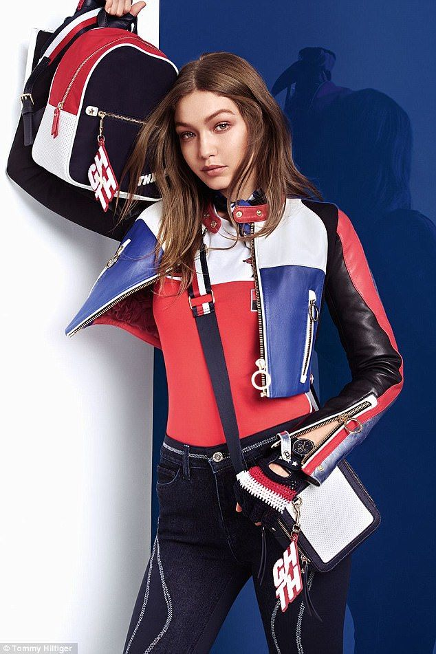 Vroom vroom! Gigi Hadid has debuted her fourth collection for Tommy Hilfiger
