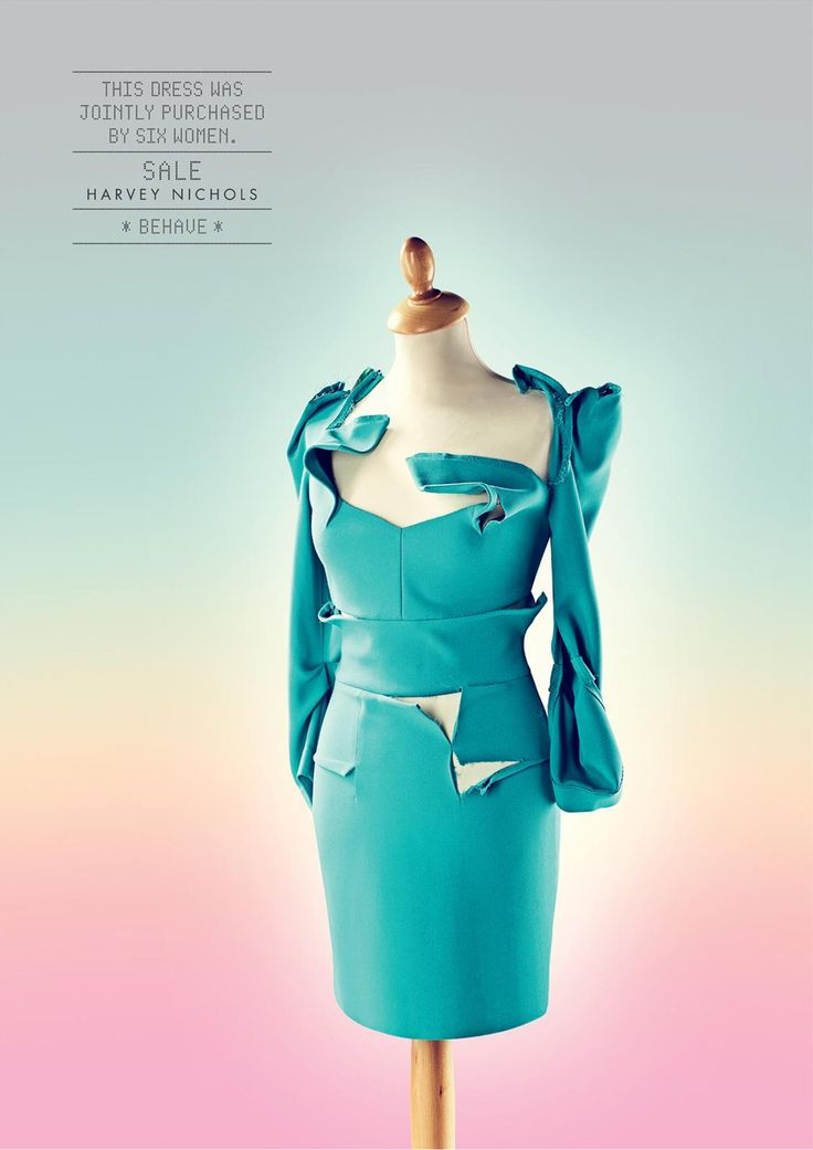 Harvey Nichols: Behave, Dress | Ads of the World™