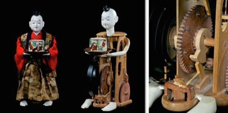 神功皇后 と 武内宿禰   ( 山車人形 )《 からくり人形  》の歴史は古いそもそも 人形は ヒトガタと呼ばれ 神の依り代や形代として人の 穢れをうつし...