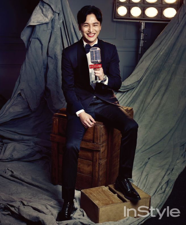 Byun Yo Han - InStyle Magazine July Issue '15