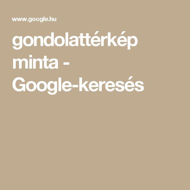 gondolattérkép minta - Google-keresés