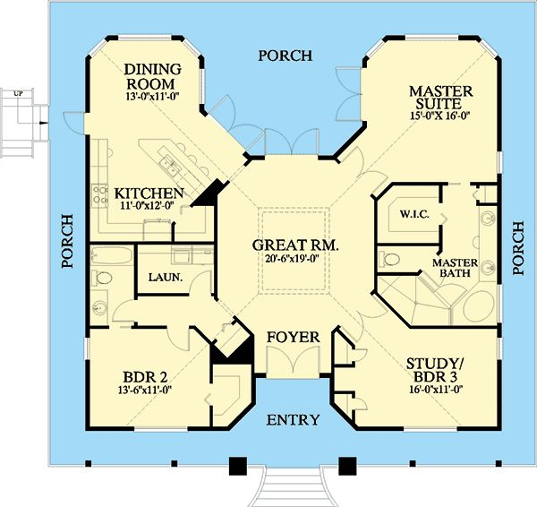 Plan 24046bg florida cracker style house plans house for House plans florida cracker style