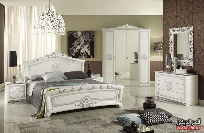 اشكال غرف نوم كاملة بالدولاب جرار 2018 قصر الديكور Furniture Bedroom Bed Design Bedroom Furniture Sets