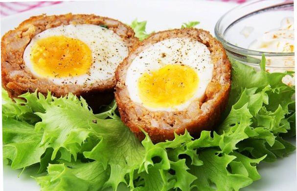 Egg in Scotch
