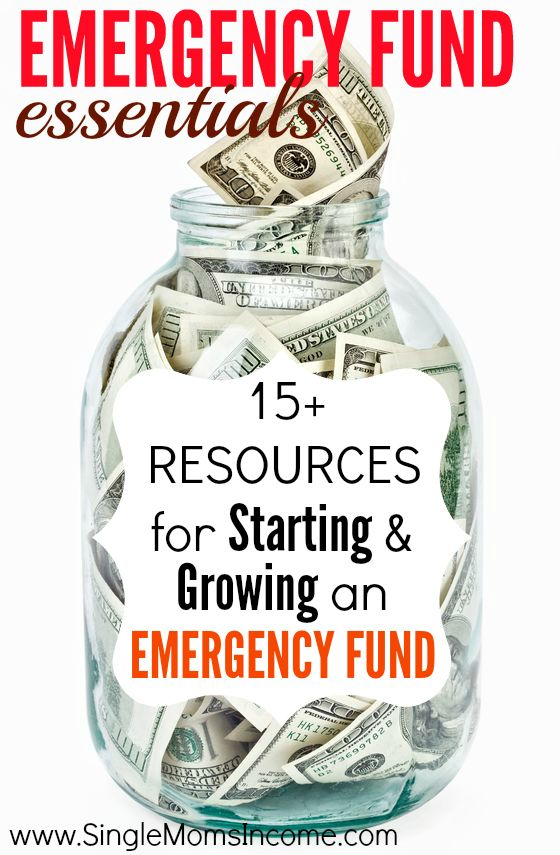 Looking to start an emergency fund? This post contains everything you'd every want to know -including how much you should save and where to save it!