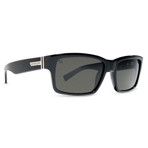 #VonZipper #Sunglasses #FULT Black Gloss Frame with a Grey Lens