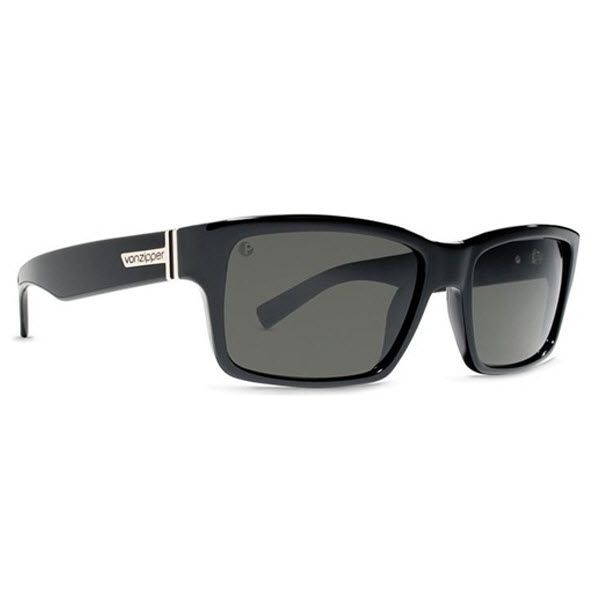#VonZipper #Sunglasses #FULT Black Gloss Frame with a Grey Lens