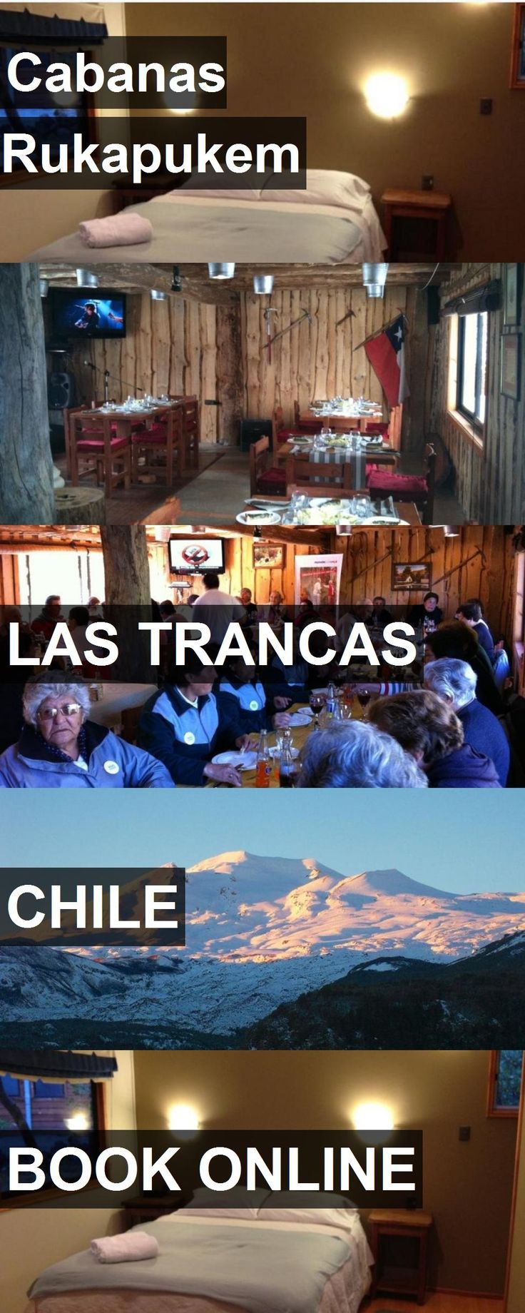 Hotel Cabanas Rukapukem in Las Trancas, Chile. For more information, photos, reviews and best prices please follow the link. #Chile #LasTrancas #travel #vacation #hotel