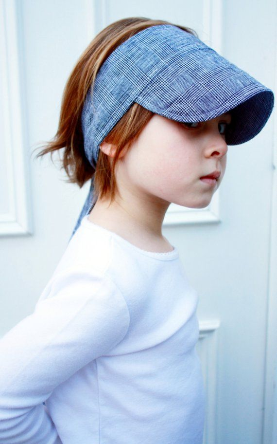 twirling betty sun visory (like AshleyAnn has) can I figure out how to make one myself? so cute!