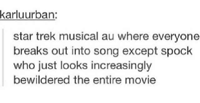 MUSICAL STAR TREK <-- YES GIVE IT TO ME PLEASE