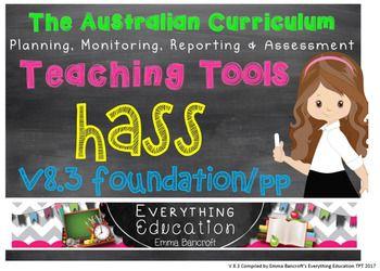 Foundation/Pre Primary HASS v8.3 Australian... by Emma Bancroft   Teachers Pay Teachers