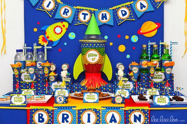Festa de aniversário: espaço!