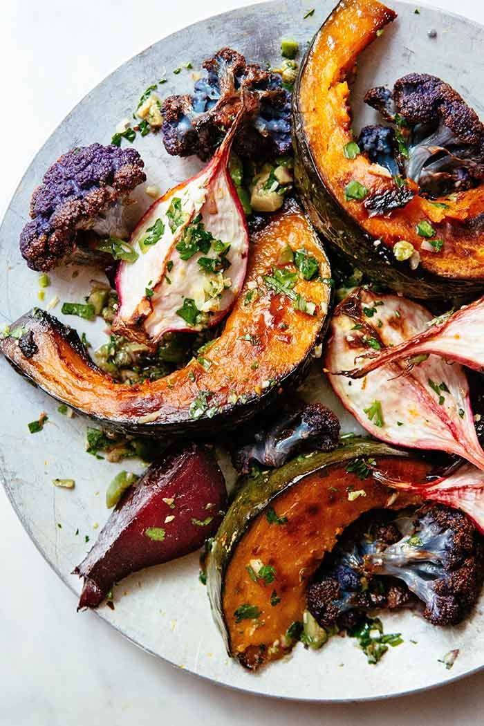 In the Kitchen With: Greta, Dani, and Colin's Roasted Vegetables | Design*Sponge | Bloglovin'