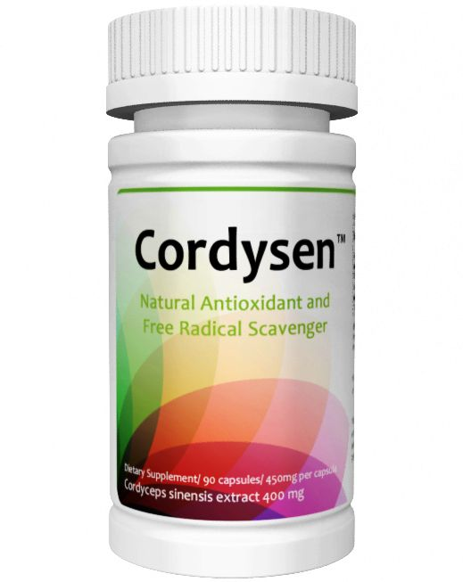 Cordysen™ 90 Capsules from Superior Supplements