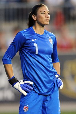 """Hope solo! This Is Not Soccer, And You Are Not A Goalkeeper ... As It Relates To Me, To Be Clear ... The Rest, Of Course: You Are Known As """"The Wall"""" .."""