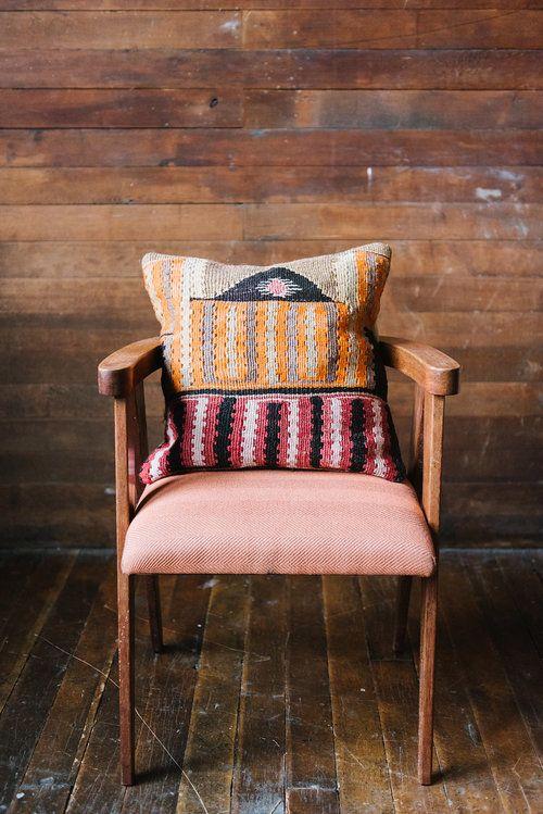 Pillow from Loom + Kiln