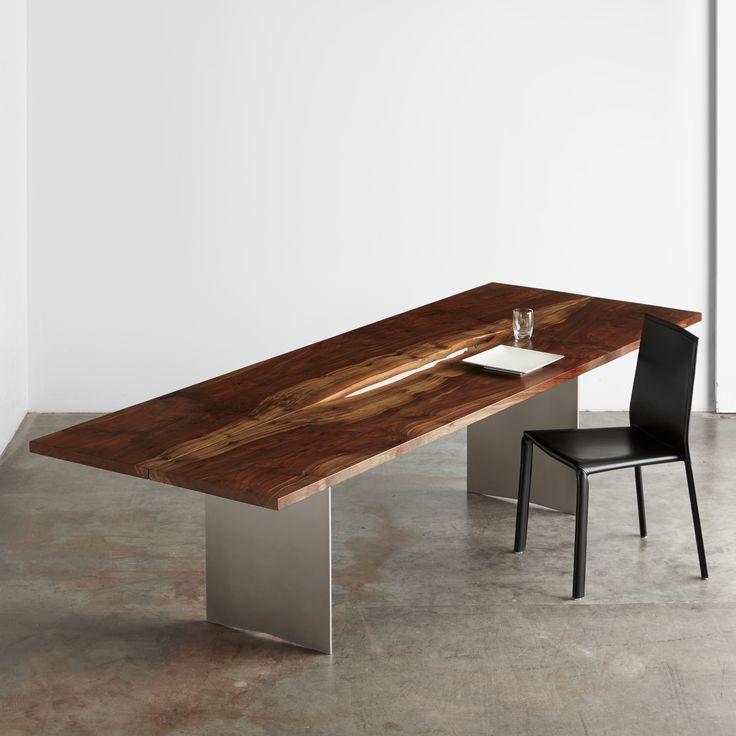 Walnut Dining Table Urbanhardwoods Salvaged Sustainable  : 93ed96ea9f20722cc0680273dc8291be walnut dining table wood tables from www.pinterest.com size 736 x 736 jpeg 44kB