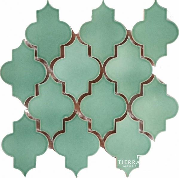 Moroccan TileMosaics, Ceramics Tile, Spanish Tile, Kitchens Backsplash, Mesh Mount Mamounia, Bathroom Walls, Moroccan Tiles, Antiques, Lights Green