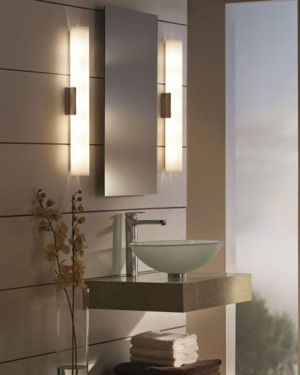 Lovely Badezimmerlampen Das Badezimmer ist f r uns alle der wichtigste Raum morgens und abends Um sich perfekt zu rasieren oder zu schminken braucht man die