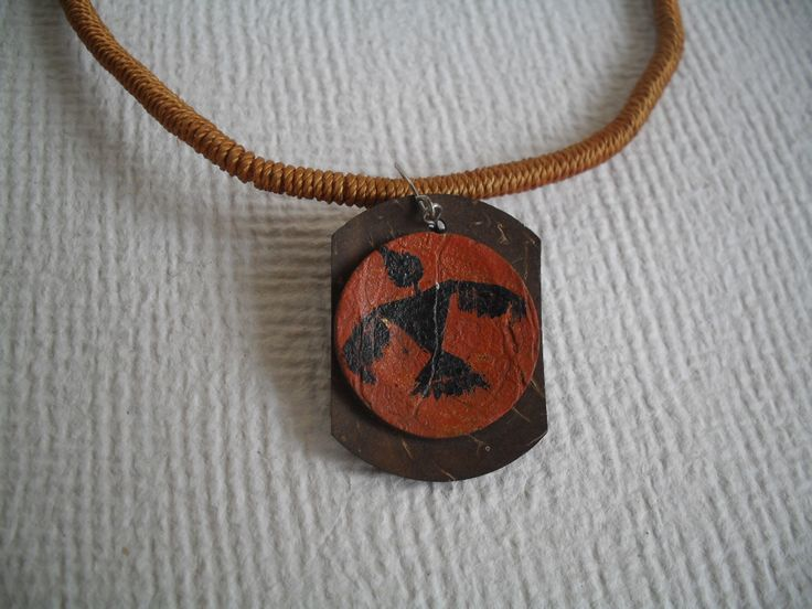 Christmas Special Limited edition - only 6 pieces of tribal art design pendants (on coconut shell) with necklaces ($5 only with shipping) available at my online store.  http://artoholicslair.storenvy.com