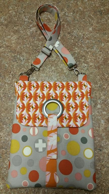 Looking for sewing project inspiration? Check out Tablet Tech Bag by member Arlene C. - via @Craftsy