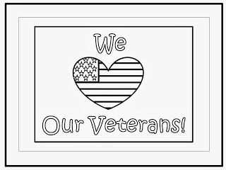 FREEBIE In Honor Of Veterans Day....Poster in color and black and white. fairytalesandfictionby2.blogspot.com